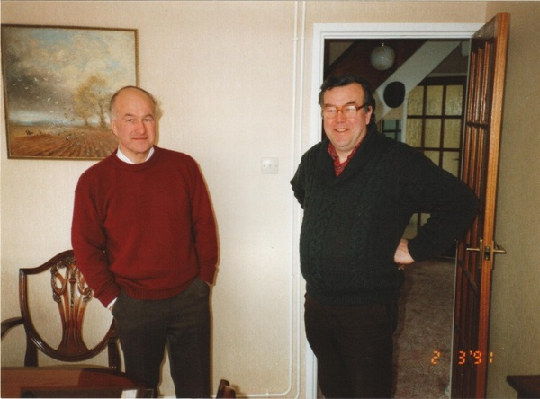 Jim and Rob Hysom