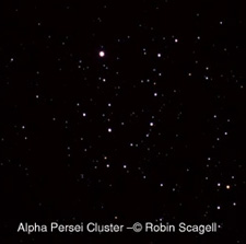 Alpha Persei Cluster, credit Robin Scagell