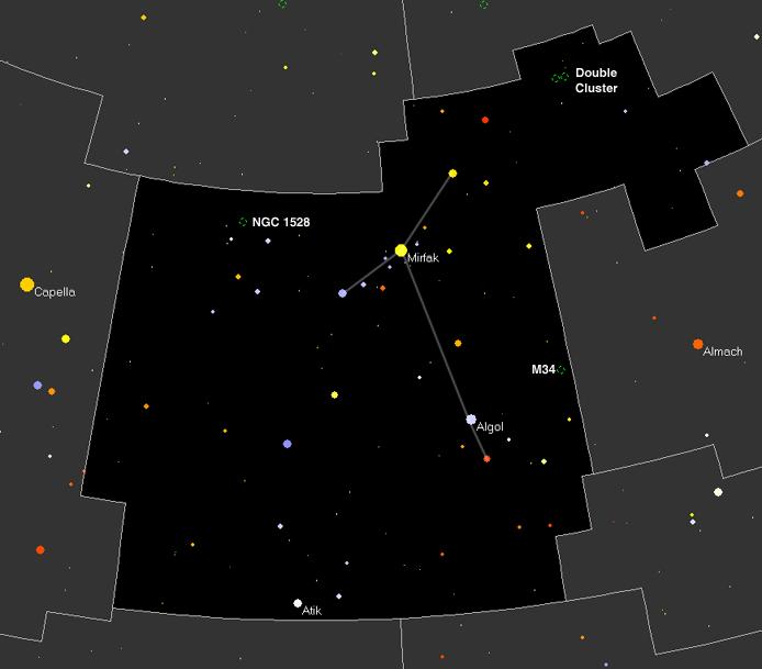 Map of Perseus
