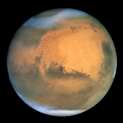 Mars from HST