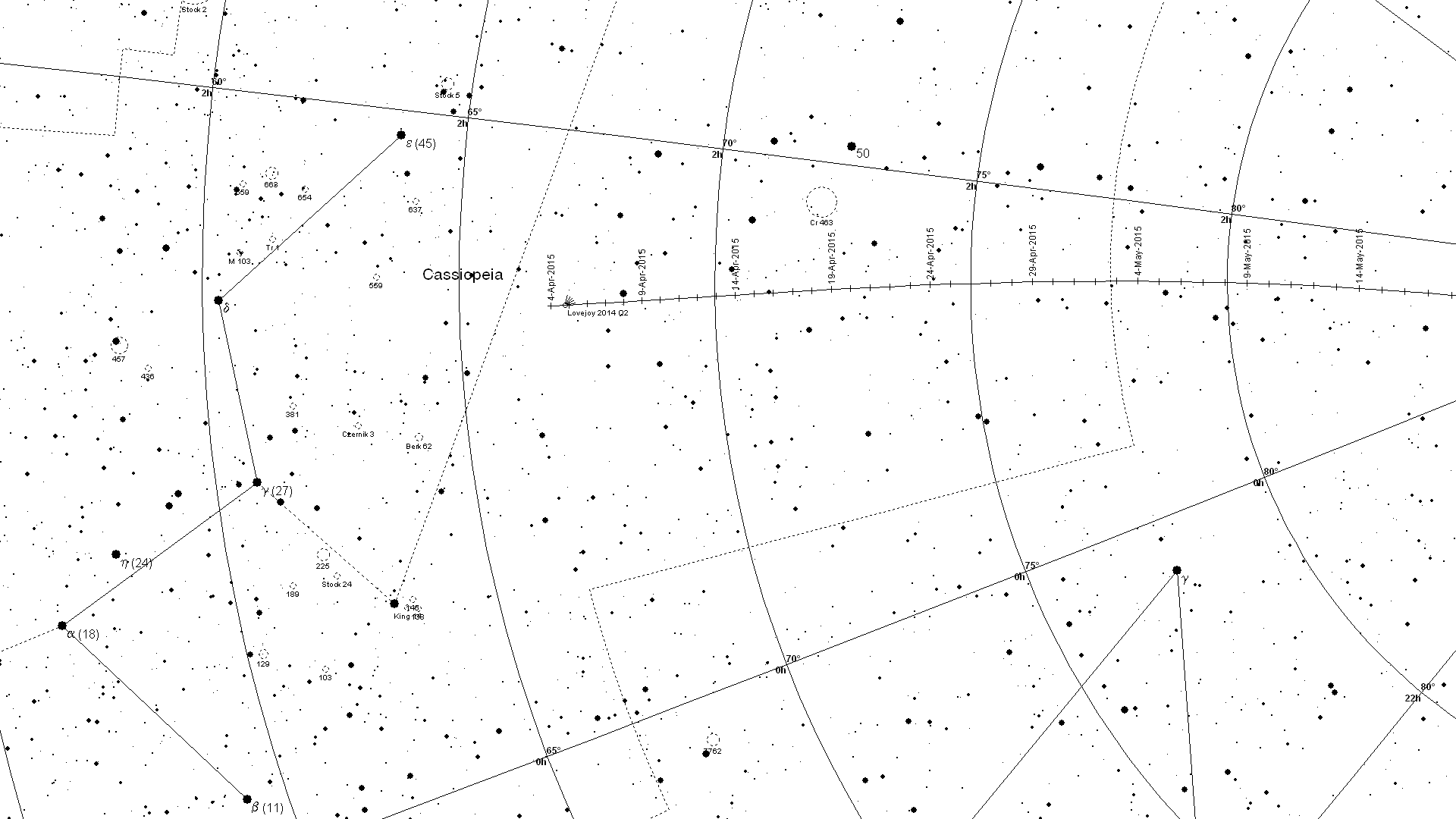 Where to see Comet Lovejoy - Society for Popular Astronomy