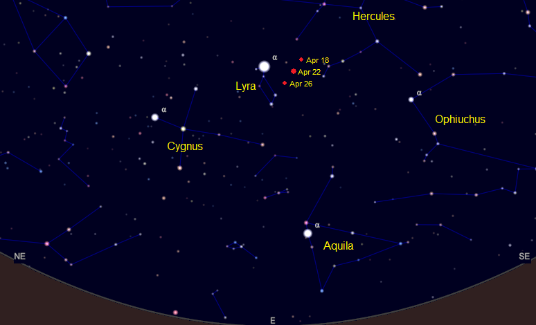 Lyrids by Moonlight - Society for Popular Astronomy
