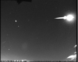 Northern Taurid fireball
