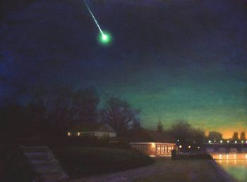 Fireball over Hyde Park