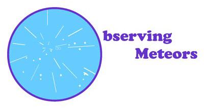 Observing meteors logo