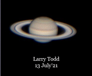 Saturn July 2021. annotated
