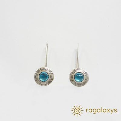 saturn-earrings- blue