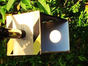 solar projection box