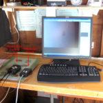 Computer inside observatory