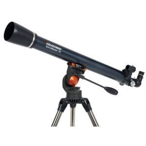 70 mm refracting telescope