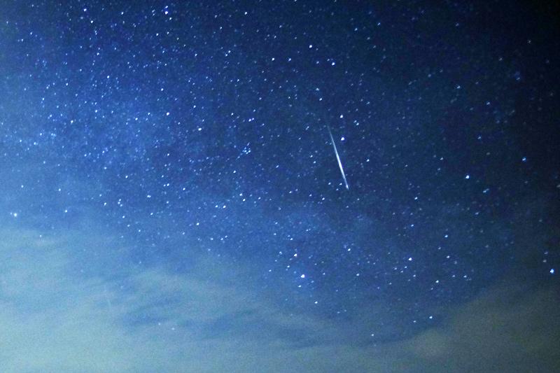 Lyrid meteor