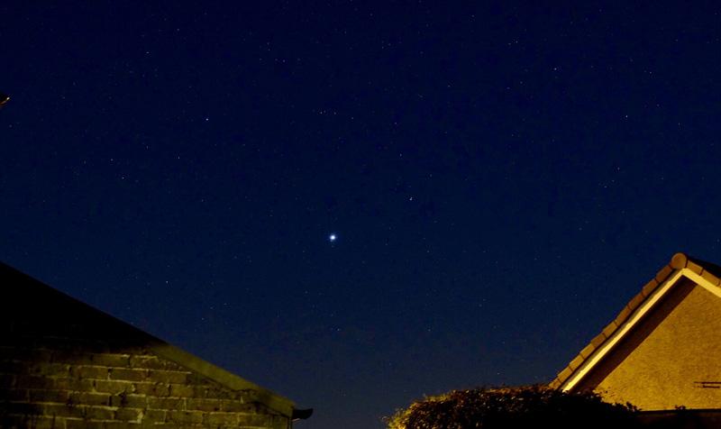 Jupiter in sky