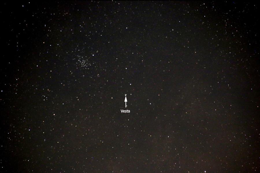 Vesta closeup