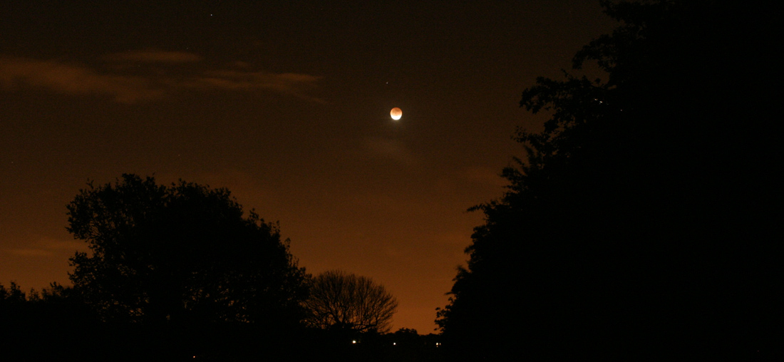 This month's lunar eclipse