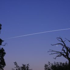 The Space Station returns to our skies