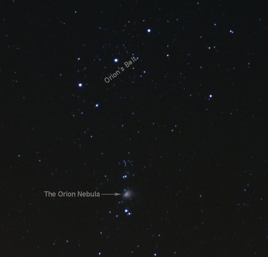 Orion Nebula finder