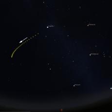 Comet Wirtanen fades
