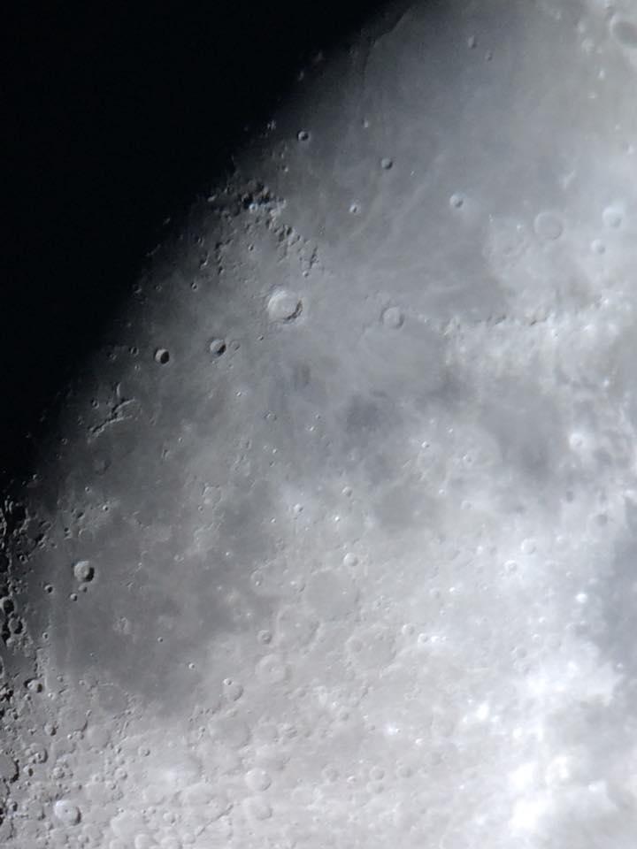 Close-up of Moon