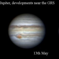 Jupiter's Great Red Spot shrinking