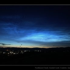 Spectacular display of noctilucent cloud