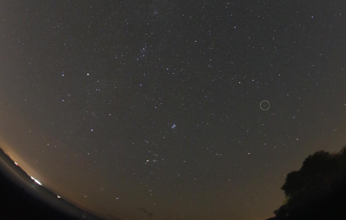Uranus in sky