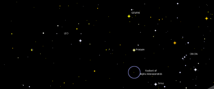 """Meteor outburst """"likely"""" – but for 15 minutes"""