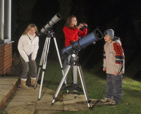 Young astronomers