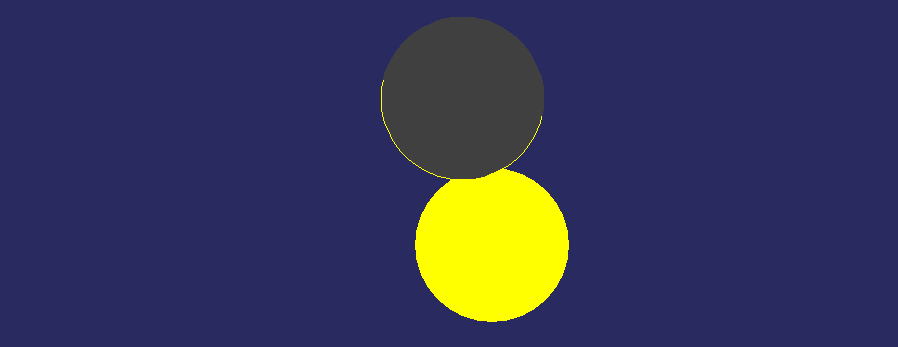 Partial eclipse diagram